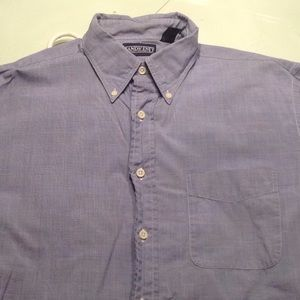 Pair of Lands End dress shirts
